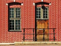 Nethetlands Hausfragment Stockbilder