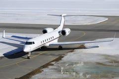 Netjets Gulfstream 550 zdjęcie royalty free