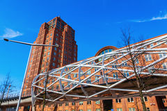 Netkous Viaduct in The Hague, Netherlands Royalty Free Stock Photos