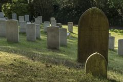 Netley军事公墓 库存图片