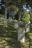 Netley军事公墓 免版税库存照片
