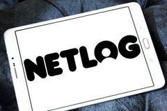 Netlog社会网络网站商标 免版税图库摄影