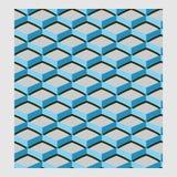 Netrivail abstrakt blom- geometrisk modell, bakgrund, sömlös vektor Arkivbilder