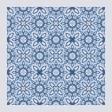 Netrivail abstrakt blom- geometrisk modell, bakgrund, sömlös vektor royaltyfria bilder