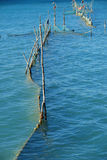 Nets. Some fishing nets on the Lake of Garda (Italy stock photography