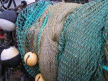 Nets. Fishing net Royalty Free Stock Images