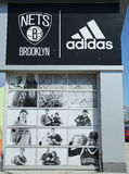 Nets Lifestyle Shop by Adidas at Coney Island in Brooklyn Royalty Free Stock Photos
