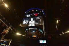 Nets vs Bulls Basketball at Barclays Center Royalty Free Stock Photo