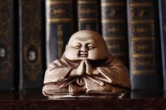 Netsuke. Japanese traditional small figure - netsuke Stock Photography