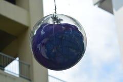 Nett das Bild eines grünen Balls für Dekoration Lizenzfreies Stockfoto