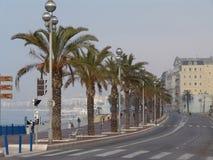 Nett. Frankreich. die Küstenlinie Lizenzfreies Stockfoto