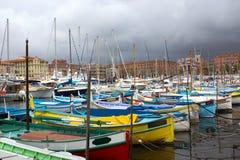 Nett - Hafen und Hafen Stockfotografie