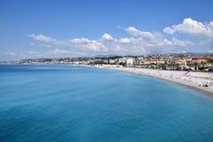 Nett - Promenade des Anglais Lizenzfreie Stockbilder