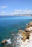 Nett - Promenade des Anglais Lizenzfreies Stockfoto