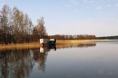 Netta rive e envia, Polônia, Masuria, podlasie Foto de Stock Royalty Free