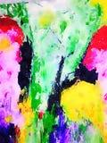 Nette abstrakte Aquarell Zusammenfassung lizenzfreie abbildung