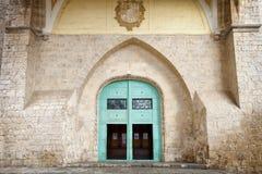 Nette alte Kirchen-Tür Lizenzfreies Stockfoto