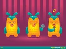 Nette Ananas Pinata-Monster Lizenzfreie Stockbilder