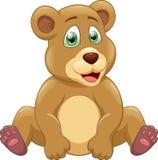 nette Bärenkarikatur Stockfoto