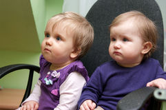 Nette Babys Stockfoto