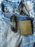 Nette Blue Jeans Stockfotografie