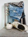 Nette Blue Jeans Stockfoto
