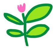 Nette Blume Illustration Lizenzfreie Stockfotografie