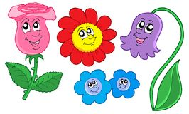Nette Blumenansammlung Lizenzfreie Stockfotos