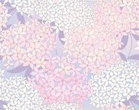 Nette Blumenkarte Stockbild