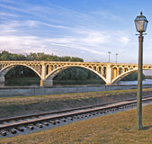 Nette Brücke lizenzfreies stockfoto