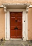 Nette britische Tür Stockfotografie
