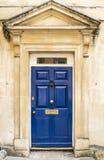 Nette britische Tür Stockfoto