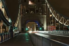 Nette Details und Architektur der Turm-Brücke in London Vereinigtes Königreich Stockfoto