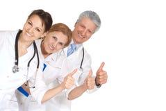 Nette drei Doktoren Stockbild