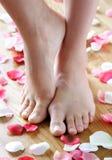 Nette Füße Stockfoto