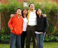 Nette Familie Lizenzfreies Stockbild