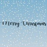 Nette frohe Weihnacht-Grüße kardieren Vektor-Hintergrund 2019 stock abbildung