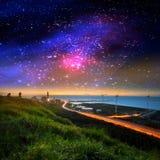 Nette Galaxie Stockfoto