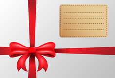 Nette Geschenkbox Stockbild