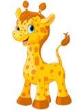 Nette Giraffe Stockfoto