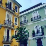 Nette Häuser Lizenzfreies Stockbild