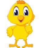 Nette Hühnerkarikatur Stockfoto