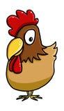 Nette Hühnerkarikatur Lizenzfreie Stockfotos