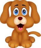 Nette Hundekarikatur stock abbildung