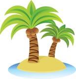 Nette Insel Lizenzfreies Stockfoto