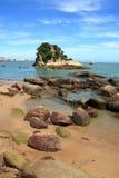 Nette Insel Stockfoto