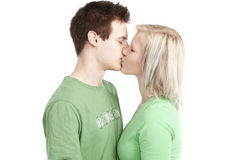 Nette junge Paare Lizenzfreies Stockfoto