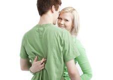 Nette junge Paare stockbilder