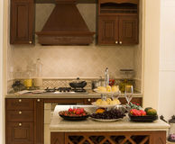 Nette Küche Stockfotos