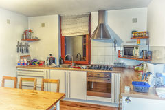 Nette Küche Stockfoto